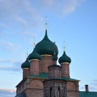 Ярославль.Храмовый комплекс в Коровниках 1650 г. :: Владислав Иопек