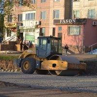 Каток,строим новые дороги.... :: Георгиевич