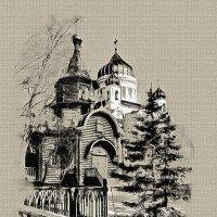 Москва. Храм-часовня во имя иконы Божией Матери Державная. :: В и т а л и й .... Л а б з о'в