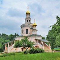 Церковь святых благоверных Бориса и Глеба в Зюзине :: Константин Анисимов
