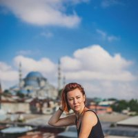 Крыши Стамбула :: Ирина Лепнёва