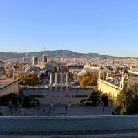 Вечер над Барселоной :: Ольга