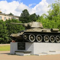 Танк Т-34-76 :: Юрий Моченов
