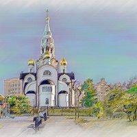 Москва. Храм Иверской иконы Божией Матери. :: В и т а л и й .... Л а б з о'в