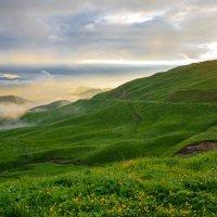 Закат на Гум- Баши :: Сергей Сабешкин