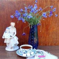 ...И синие цветы...и бантик синий :: TAMARA КАДАНОВА