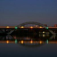 Мост Октябрьской железной дороги в Химках :: Юрий Моченов
