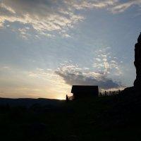 Вечер в южноуральской деревушке :: Ольга Чистякова