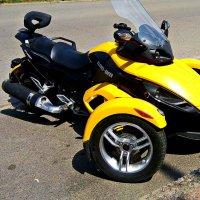Трёх колёсный мотоцикл :: Владимир Бровко