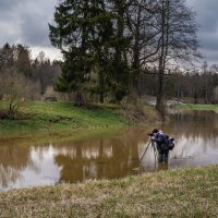 Настоящий фотограф! :: Олег Бабурин