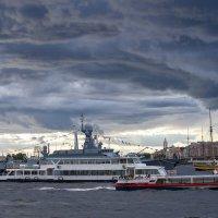 В преддверии дня ВМФ :: Владимир Питерский