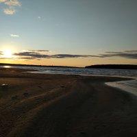закат на реке... :: Алена