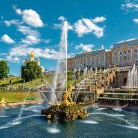 Санкт-Петербург — столица фонтанов :: Максим Хрусталев