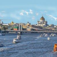 Москва-река. :: Александра Климина