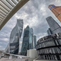 Ракурсы Москва-СИТИ :: Александр Орлов
