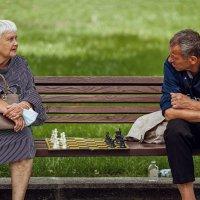 Встретились два одиночества... :: Евгений Мокин