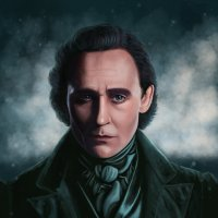 Портрет Tom Hiddleston. :: Наталия Львова