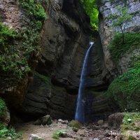 малый Чегемский водопад :: Александр Богатырёв