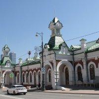 Старейший вокзал Перми - Пермь-1. :: Евгений Шафер