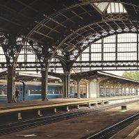 Синий поезд... :: Elena Ророva