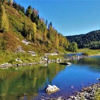 На осенней реке :: Сергей Чиняев