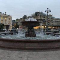 Москва. 30 сентября 2021 г. - последний день работы фонтанов в этом сезоне. :: Татьяна