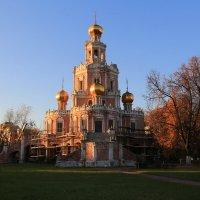 Храм Покрова Пресвятой Богородицы в Филях,реставрация :: Ninell Nikitina