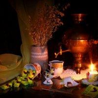 Вечерний чай :: Нэля Лысенко