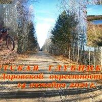Сухой октябрь 2021 г. п.Даровской окрестности. Вело-прогулка. :: Василий ВЯТСКАЯ ГЛУБИНКА