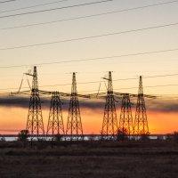 Закат и энергетика :: TATYANA PODYMA
