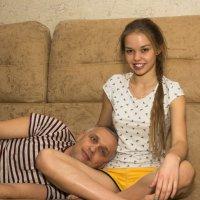 Папа с дочей :: Павел Савин
