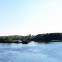 Великий Новгород. Панорама Волхова с Горбатого моста :: Юлия Троянова