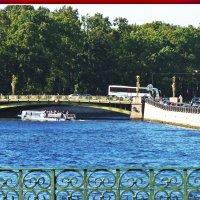 Пантелеймоновский мост через Фонтанку. :: Александр Лейкум