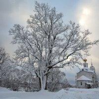 Вечер в деревне :: Александр Шамардин
