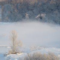 Зима.Туман. Река. :: Oksana Abdulaeva