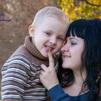 Мама и сын :: Анастасия Володина
