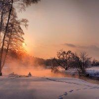 Последний закат декабря. :: Дмитрий Блинков