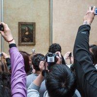 Мона Лиза и поклонники :: Антон Смульский