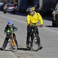 велопробег с папой :: ник. петрович земцов