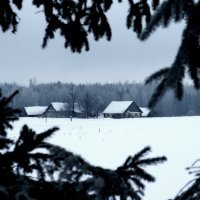 22 января, хутор :: Юрий Бондер