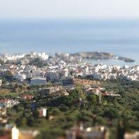Вид на город Херсониссос, Крит :: Александр Лебедев