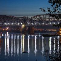 Железнодорожный мост через Енисей :: Наталья Железко
