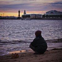 на берегу... :: Елизавета Вавилова
