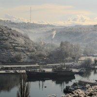Снег в Севатополе :: Игорь Юрьев