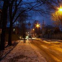 Дорога на вечернюю службу... :: Татьяна Копосова