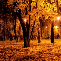 Осенний вечерок. :: Иван