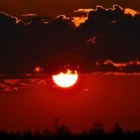 Северный закат :: Александр Канышев