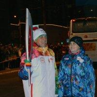 Эстафета Олимпийского огня в Барнауле :: Полина Яблонцева