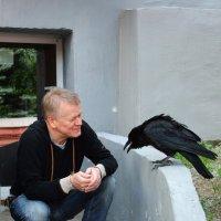 Общение с мудрой птицей :: Юрий Филиппов