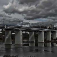 Мост через Оку в г. Алексин Тульской области :: Александр Лебедев